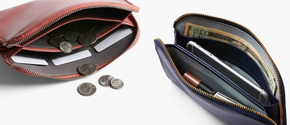 Bellroy Clutch ベルロイ クラッチ レディース財布コレクション 使用イメージ