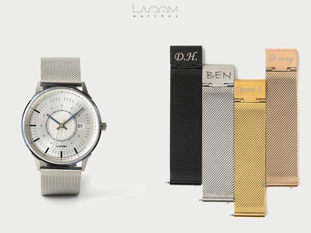 Lagom Watches(ラーゴムウォッチ)SJO【LW054】シルバー シルバーメッシュ
