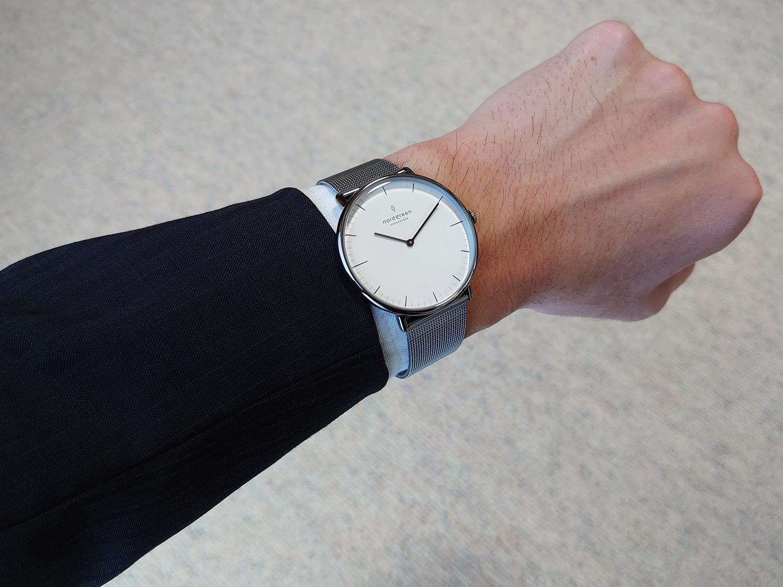 Nordgreen(ノードグリーン)Native(ネイティブ)40mm 北欧腕時計 デンマーク スーツ