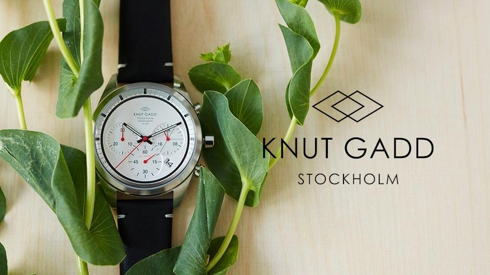 KNUT GADD クヌートガッド 北欧腕時計 スウェーデン(ストックホルム)