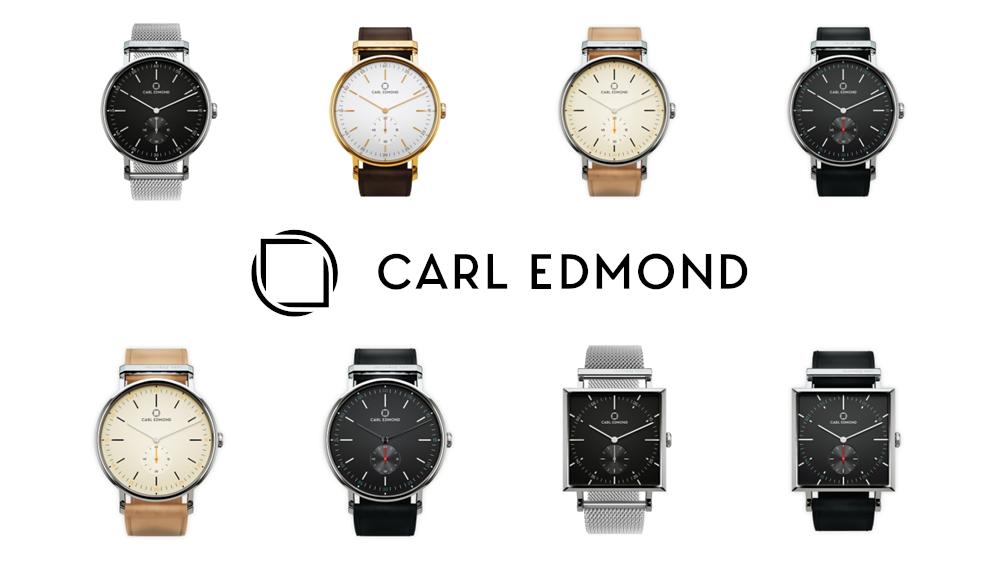 CARL EDMOND(カール・エドモンド)北欧腕時計 スウェーデン