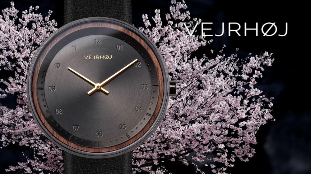 VEJRHOJ(ヴェアホイ)sakura 桜 腕時計