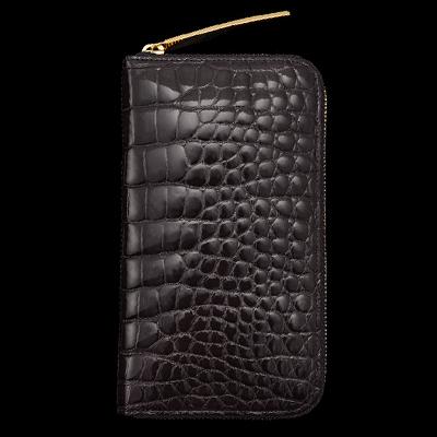 S2472-6 ロングウォレット 池田工芸 クロコダイル 財布