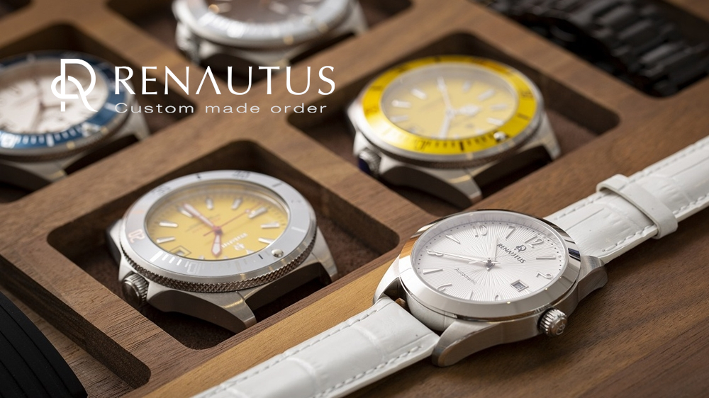 RENAUTUS(ルノータス)カスタマイズ腕時計 刻印