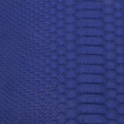 ブルー(カスタム限定) 池田工芸 クロコダイル 財布 パイソンカラー