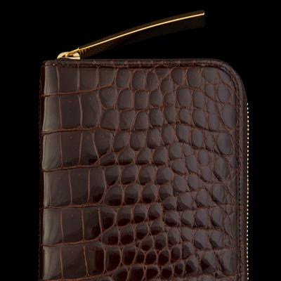チョコレート 池田工芸 クロコダイル 財布カラー