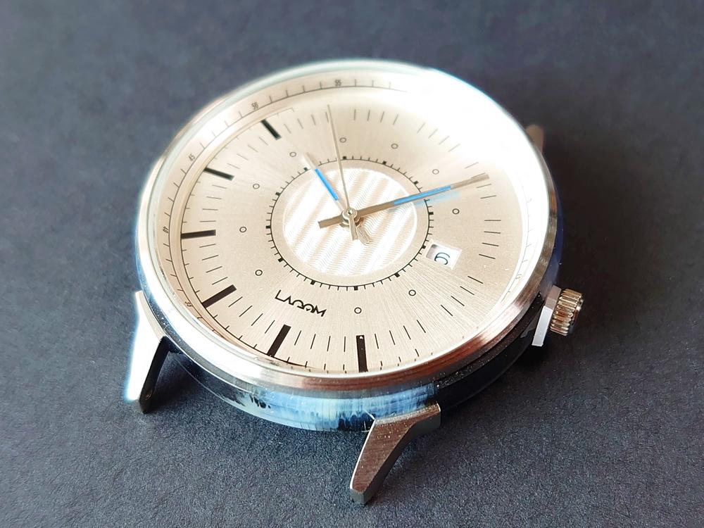 Lagom Watches(ラーゴムウォッチ)SJO【LW054】シルバー シルバーメッシュ 時計本体 デザイン