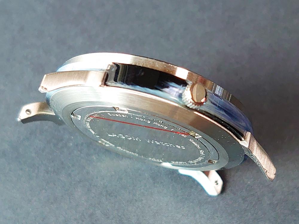 Lagom Watches(ラーゴムウォッチ)SJO【LW054】シルバー シルバーメッシュ イタリアマッツェッリアセテート