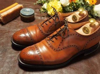 グッドイヤーウェルト製法の革靴