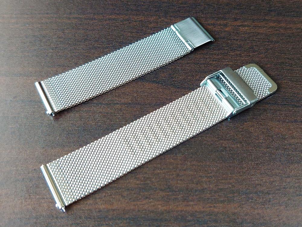 Lagom Watches(ラーゴムウォッチ)SJO【LW054】シルバー シルバーメッシュ ストラップ