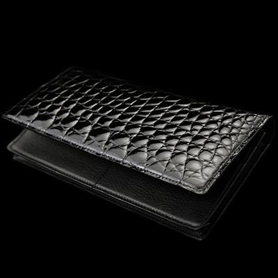 S2675 長札入れ 池田工芸 クロコダイル 財布