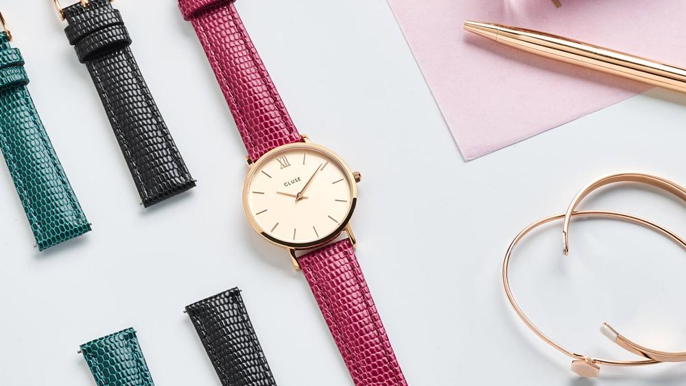 CLUSE(クルース)腕時計 ベルト交換 イージーレバー