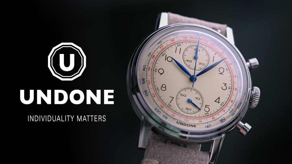 UNDONE アンダーン カスタマイズ腕時計 メンズ