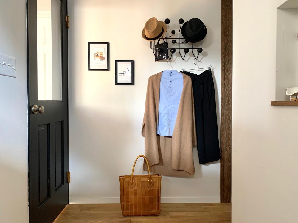 バッグと洋服