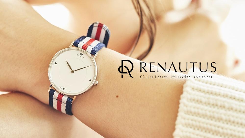 RENAUTUS(ルノータス)カスタム腕時計 レディース 女性