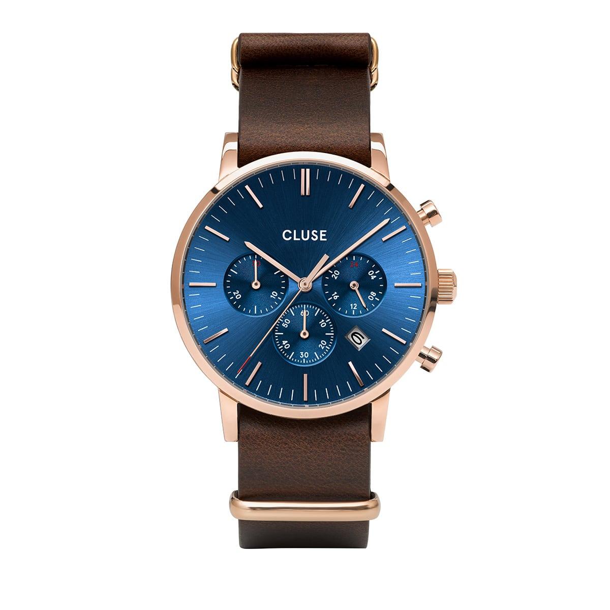 アラヴィスクロノ 40mm メンズ CLUSE クルース 腕時計