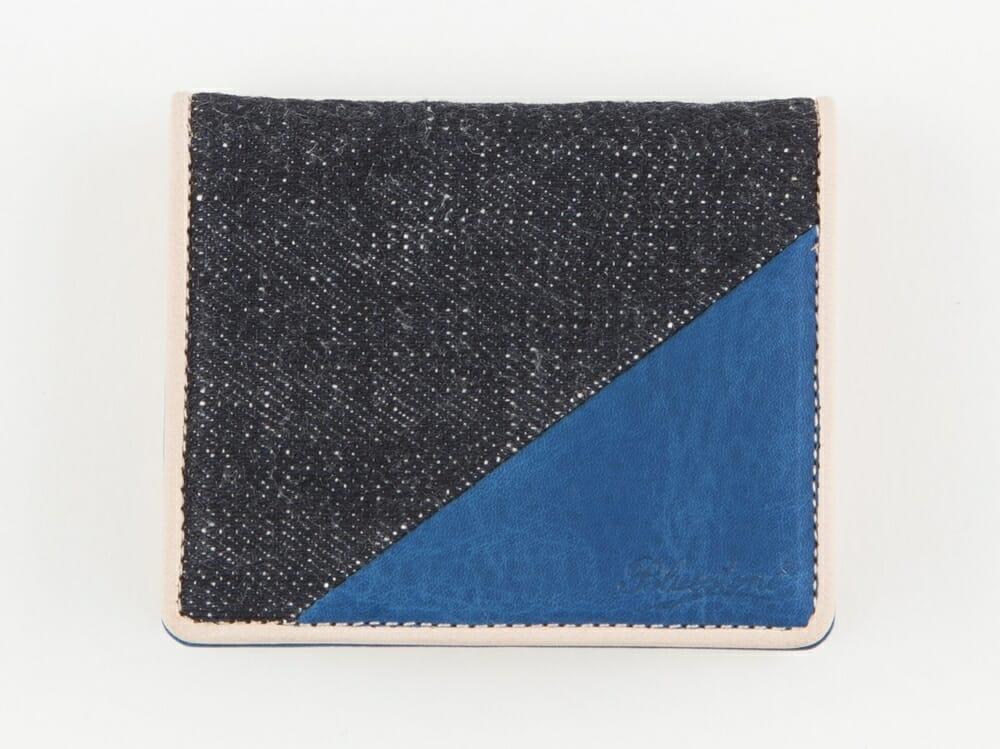 Bluestone Sデニム x スクモレザー コインケース 本体 Mens Leather Store メンズレザーストア