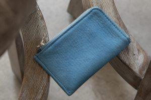 SUKUMO Leather(スクモレザー)スクモレザー L字ジップカードケース