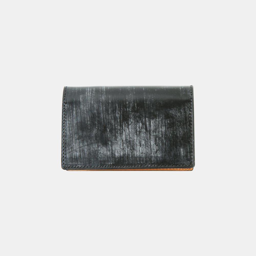 BRIDLE LEATHER ブライドルレザー 薄型名刺入れ(ブラック)crafsto(クラフスト)