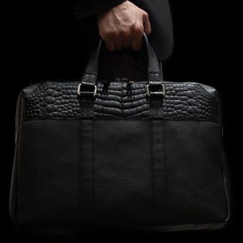 池田工芸 Crocodile Brief Bag(クロコダイル ブリーフバッグ)