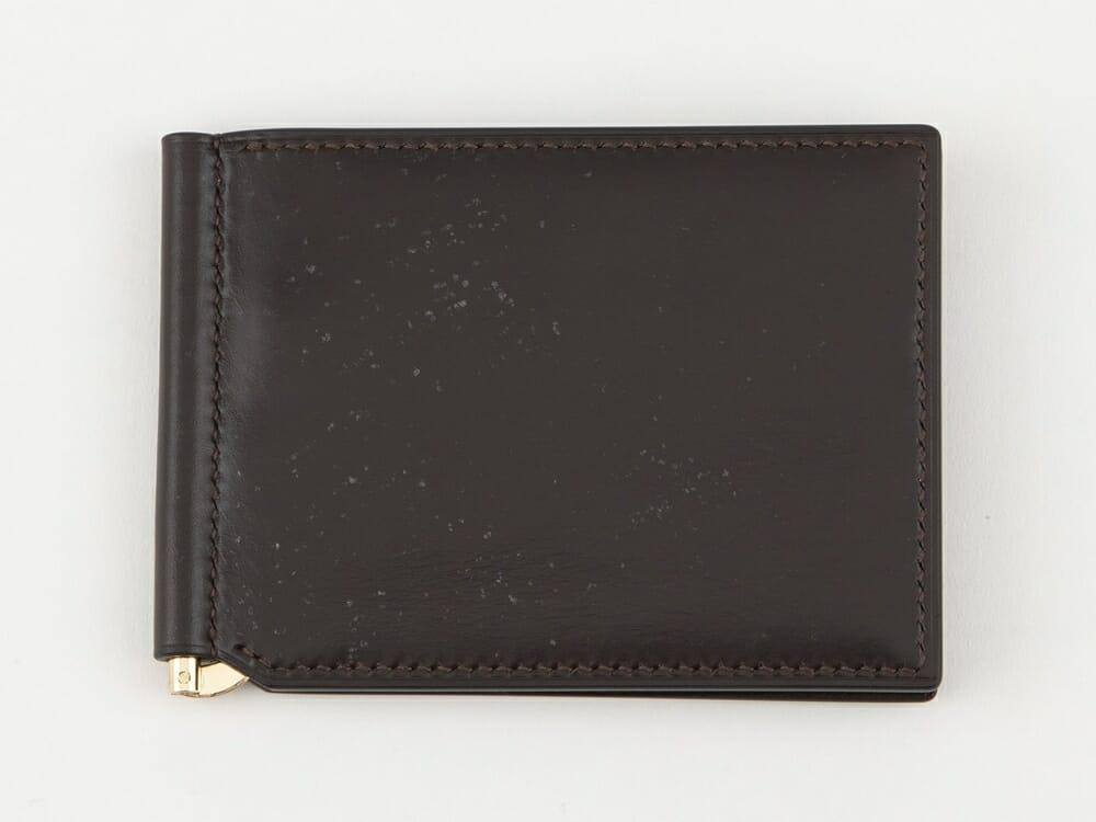 Crevaleathco ブライドル マネークリップ(小銭入れ付)本体 Mens Leather Store メンズレザーストア