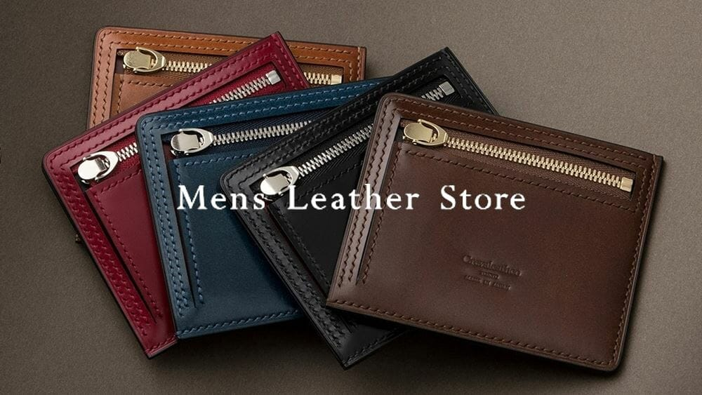 Mens Leather Store メンズレザーストア Small Wallet Collection