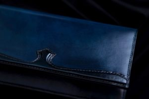KAJIYA(かじや) by TEAM TRAD-BISON(トラッドバイソン)手染めイタリアンレザー 長財布