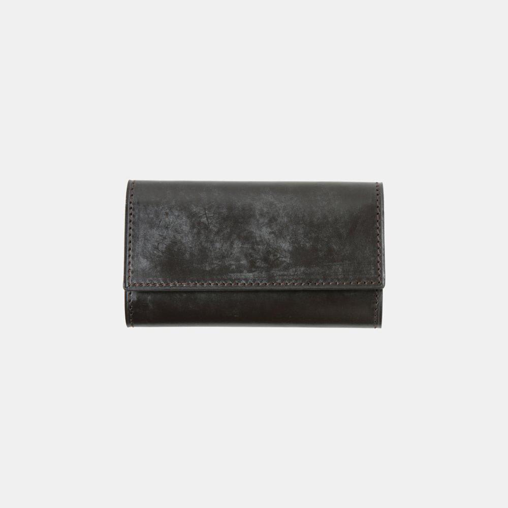 BRIDLE LEATHER ブライドルレザー キーケース(ブラック)crafsto(クラフスト)