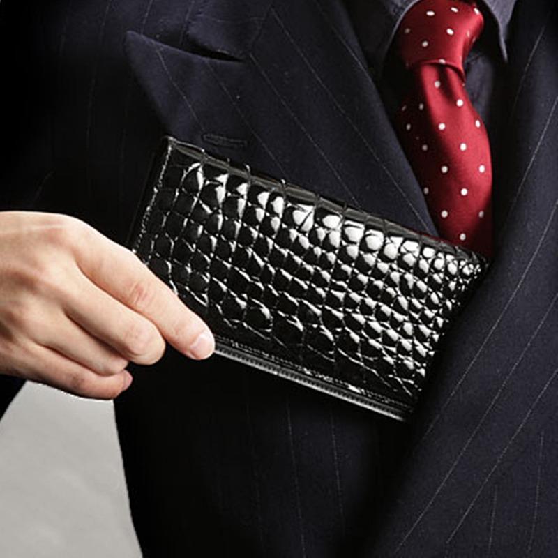 池田工芸 Crocodile Billcase wallet(クロコダイル ビルケースウォレット)長財布(長札入れ)