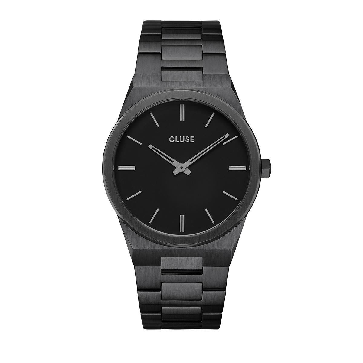 滝沢カレン 着用 40mm - CW0101503005 ヴィグルー40 Hリンク フルブラック CLUSE クルース 腕時計