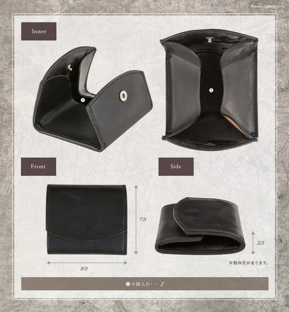 二宮五郎商店 ホーウィン シェルコードバン コインケース 寸法 Mens Leather Store メンズレザーストア