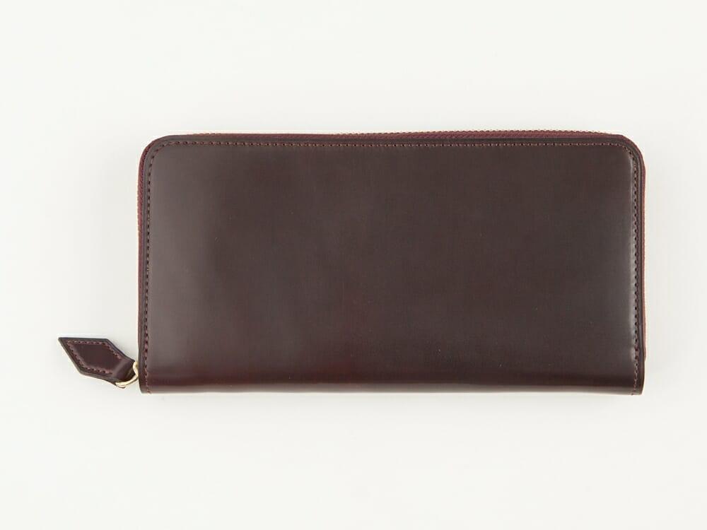 Flathority ホーウィン シェルコードバン ラウンドジップ長財布 財布本体 Mens Leather Store メンズレザーストア