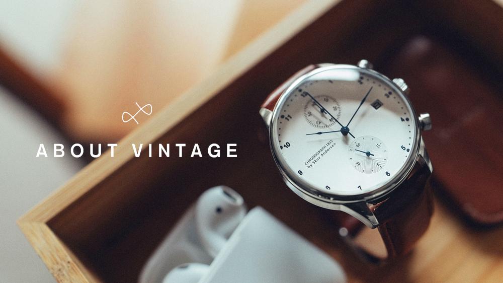 About Vintage(アバウトヴィンテージ)ベストセラー 1815 CHRONOGRAPH(クロノグラフ)