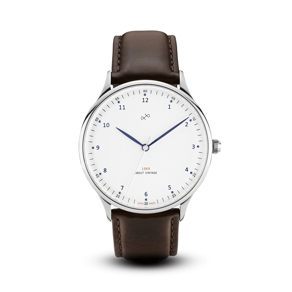 1969 VINTAGE 39mm STEEL WHITE About Vintage(アバウトヴィンテージ)