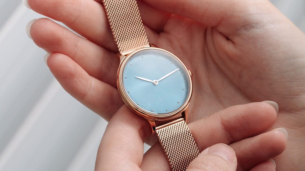 1969 petit Rose Gold _ Blue 1969 PETIT レディース About Vintage(アバウトヴィンテージ)