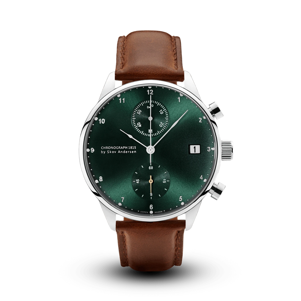 1815 CHRONOGRAPH STEEL GREEN SUNRAY About Vintage(アバウトヴィンテージ)