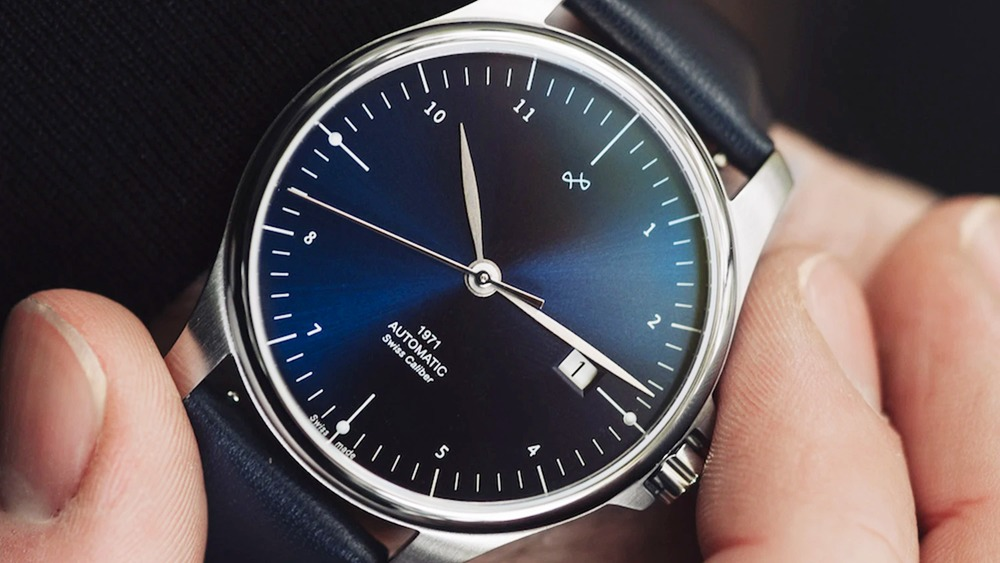 1971 AUTOMATIC SWISS MADE(スイス製オートマチック)_1971_Steel NIGHT BLUE About Vintage(アバウトヴィンテージ)