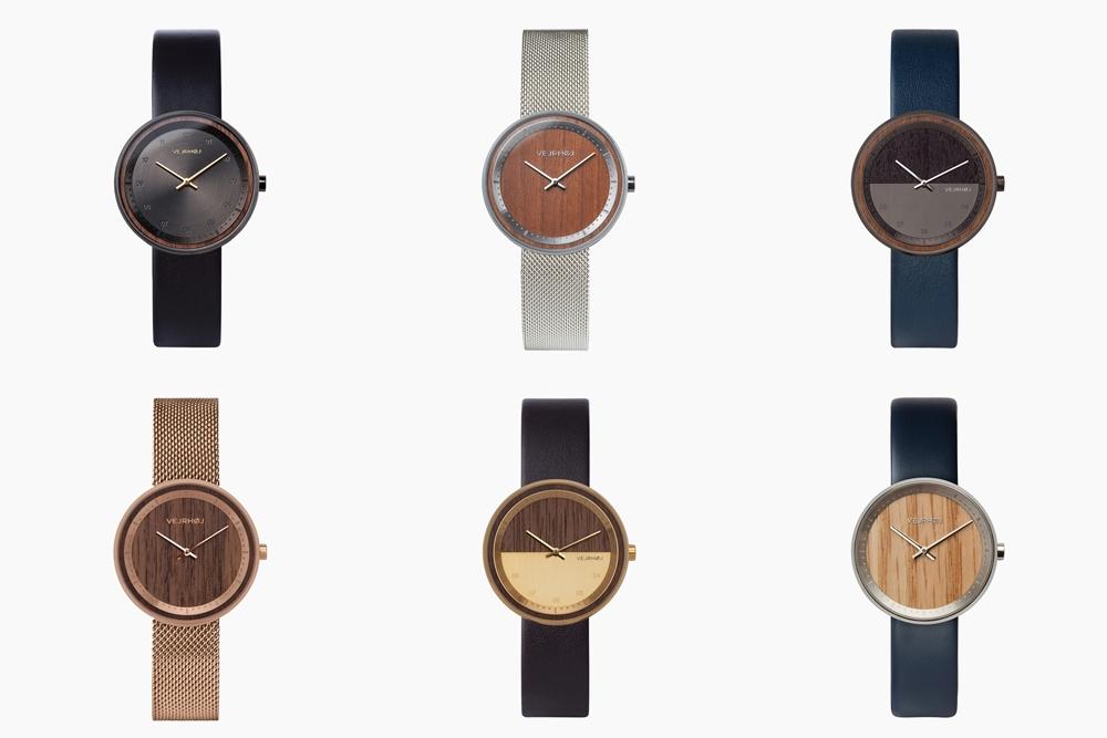 VEJRHØJ(ヴェアホイ)腕時計ラインナップ 木製腕時計