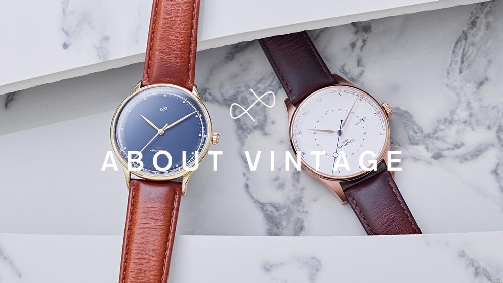 About Vintage アバウトヴィンテージ 1969 VINTAGE(スイス製クォーツ)レディース ペアウォッチ
