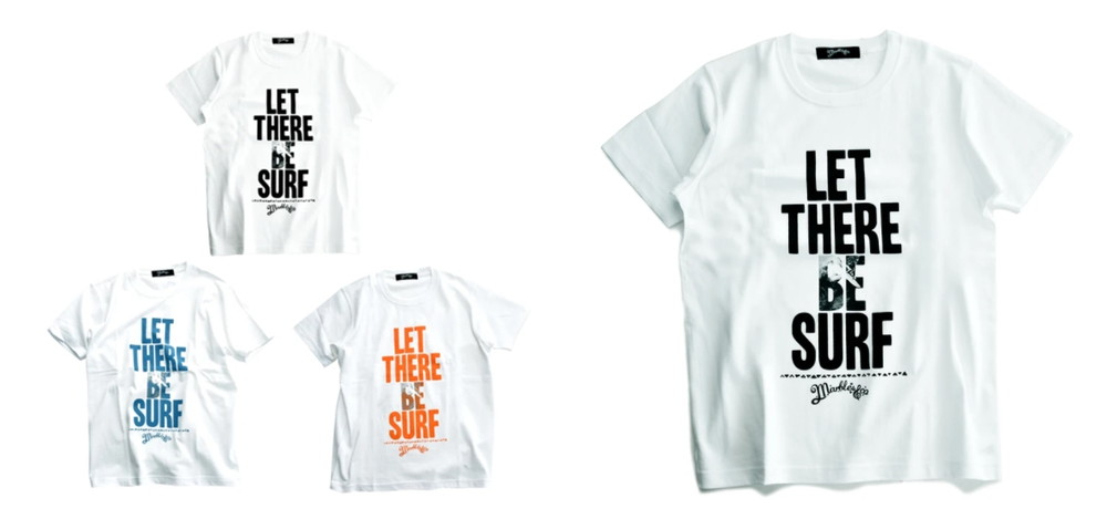 LET THERE BE SURF TEE-horz