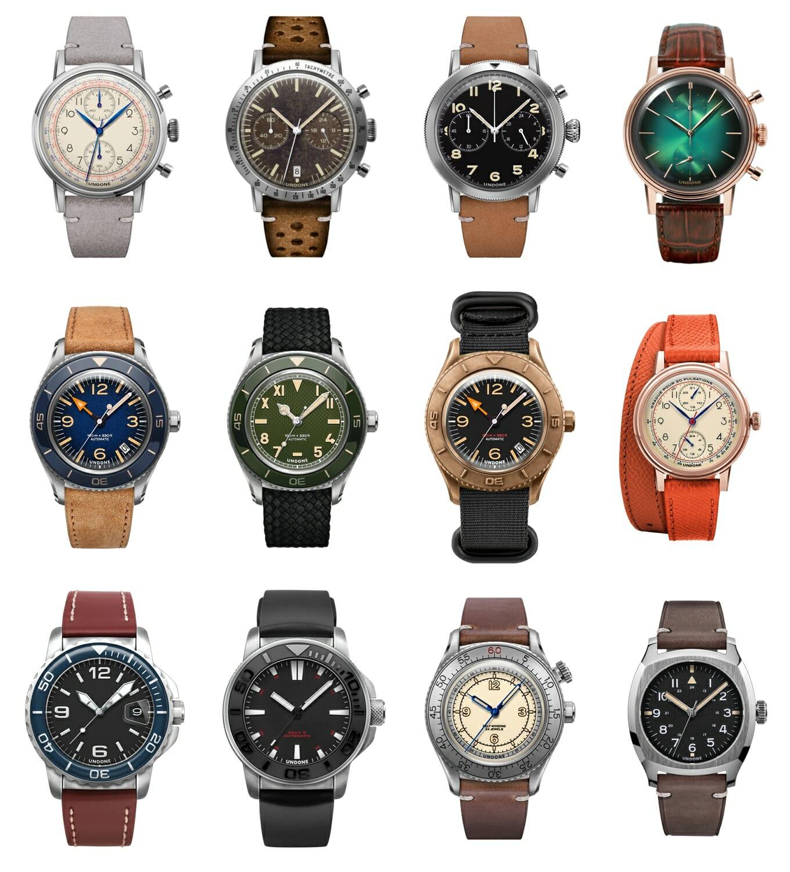 UNDONE アンダーン カスタム腕時計コレクション一覧