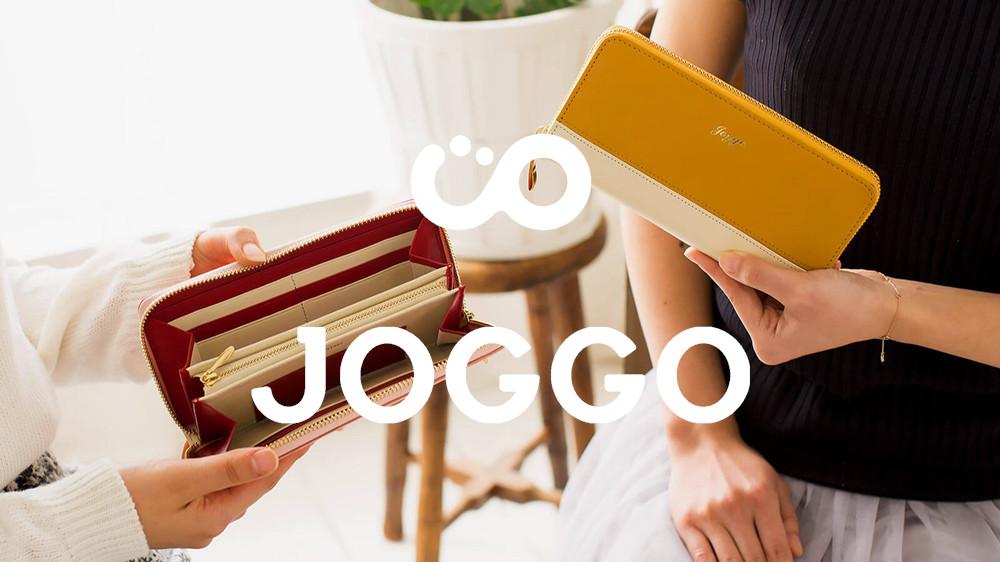 JOGGO ジョッゴ レディース シンプルラウンド長財布(バイカラー)