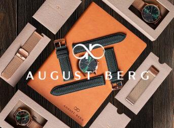 August Berg(オーガスト・バーグ)デンマーク 腕時計