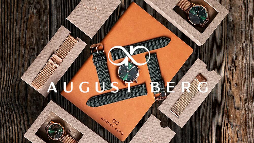 August Berg(オーガスト・バーグ)デンマーク腕時計