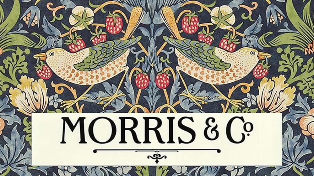 ウィリアム・モリス MORRIS & CO.(モリス&コー)いちご泥棒 Strawberry thief
