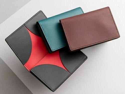 リスシオ 名刺入れ NIBUR(ニブール)Mens Leather Store(メンズレザーストア)
