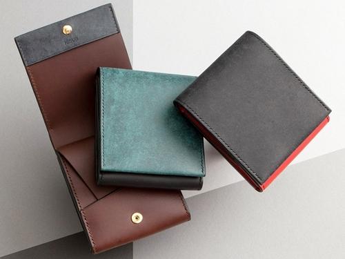 プエブロ&リスシオ ショート財布 NIBUR(ニブール)Mens Leather Store(メンズレザーストア)