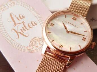 Luana(ルアナ)P08L 32mm ピンクゴールド メッシュストラップ LIAKULEA(リアクレア)腕時計レビュー カスタムファッションマガジン