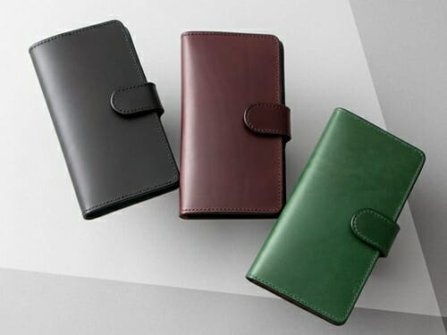ブッテーロ 手帳型iPhoneケース(XS サイズ以下対応) NIBUR(ニブール)Mens Leather Store(メンズレザーストア)