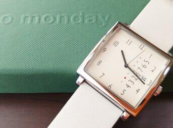 NM-2 NM-471BE(35mm)NO MONDAY(ノーマンデー)ベージュストラップ(22mm)腕時計レビュー カスタムファッションマガジン